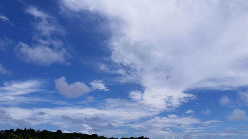 Clouds And Sky Cloud Formations Landscape No Edits No Filters St.Croix, US Virgin Islands