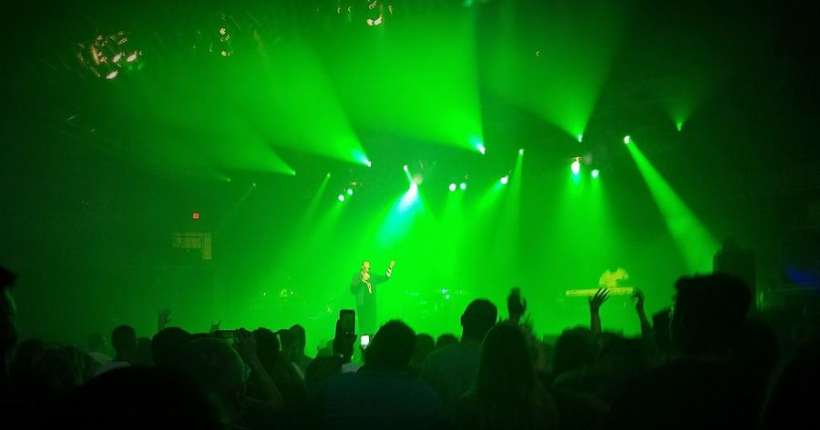 Snoop Dogg Snoop Lion  Snoopdogg Concert Music HipHop Popular Music Concert Rapper Rap Music Fun Weed Life Marijuana Pot 420life Performance Audience Crowd Nightlife Illuminated Stage - Performance Space Stage Light Green Color