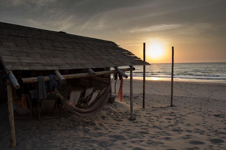 Beach Hostel Hammock HostelLife Peru Sand On My Feet