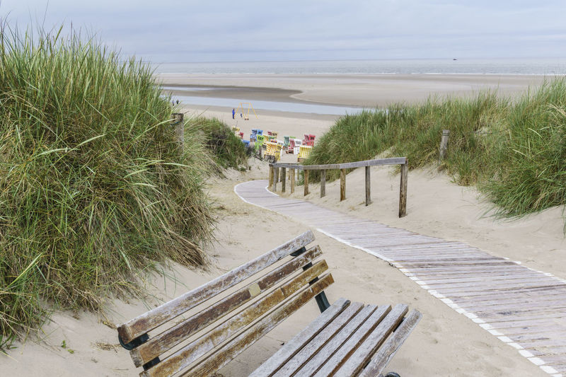 Langeoog Island North Sea Beach Beauty In Nature Boardwalk Day Germany Horizon Over Water Idyllic Island Langeoog Nature No People Ocean Outdoors Scenics Sea Shore Sky The Way Forward Tranquil Scene Tranquility Walkway Water