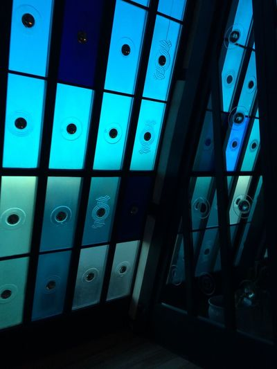 Blue Indoors  No People Close-up Day Church Minimalism Design Designing Desinger