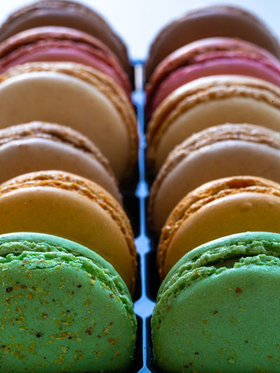 lovely french macarons close up photo Dessert Pastry Cake Biscuit Colorful Variation French Food Assortment Cookie Macaroon Variety Colored Confection Shot Candy Yellow Snack Confectionery Meringue Colors Crème Green Sweet Photo Blue Fresh Purple Cuisine Selective Restaurant Strawberry Color Studio Focus Multi Diet Round Macarons Calories Delicious Sweet Food Traditional Flavor Specialty Background Cream Image AssoRted