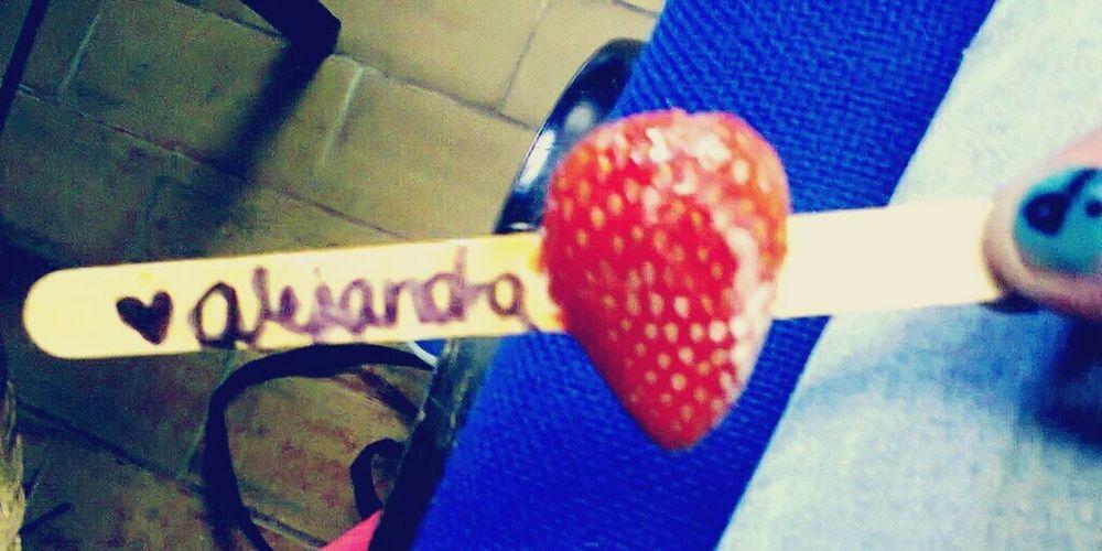 Strawberry Delicious ♡ Flavor Favorite Beautiful ♥ Alejandra<3