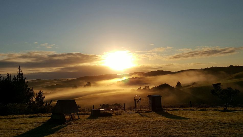 Sunrise at home over the hill tops & into the valley ❤ sunrise early mornings Share Your Adventure