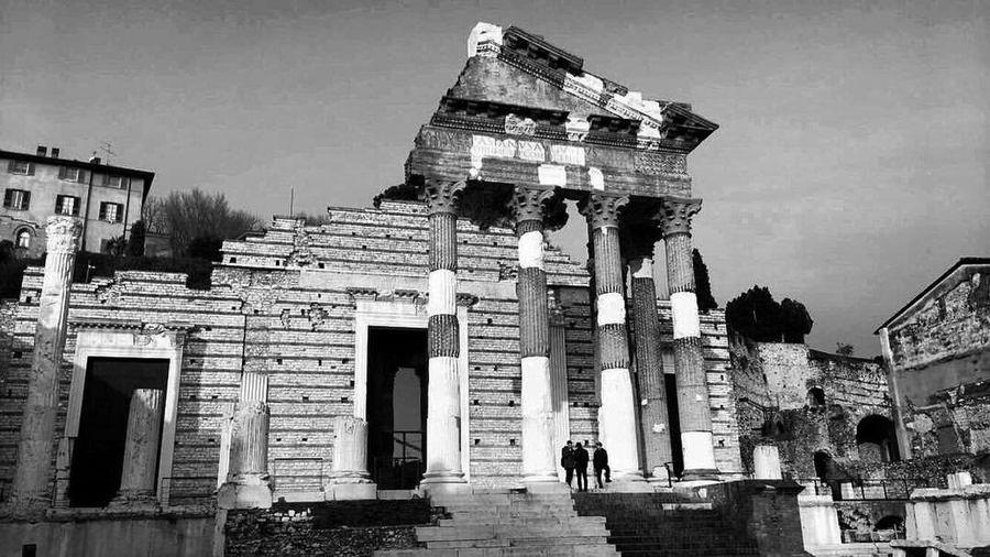 Brescia Roman Architecture Tempio Capitolino Capitolium Ancient Civilization Cultures Old Ruin History