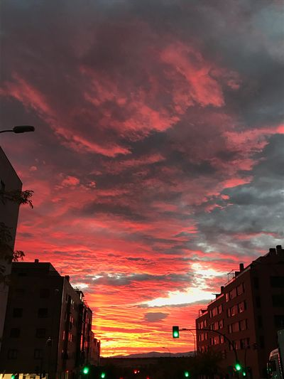 Sunset Sky Cloud - Sky Built Structure Architecture Building Exterior City No People Silhouette Beauty In Nature Outdoors Nature