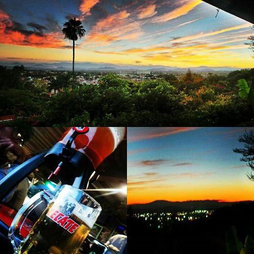 Ya hacía falta Galaxycamera Necrotismo_Photographer Triton Tecatebeer Tecate Relax Viewofthecity Sunset Instasunset Igersmorelos