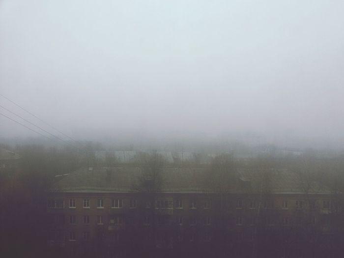 Foggy Day Fog Rain Autumn Novembers Doom