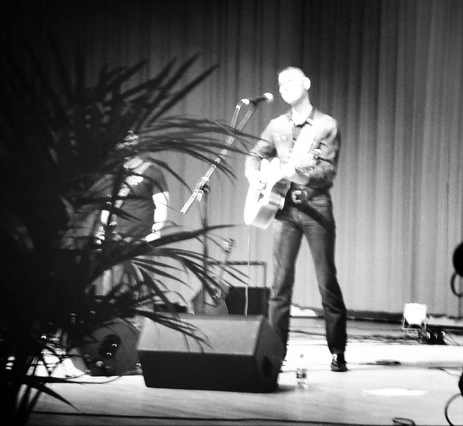 Jimmy Rose @ Coal Rally Black And White