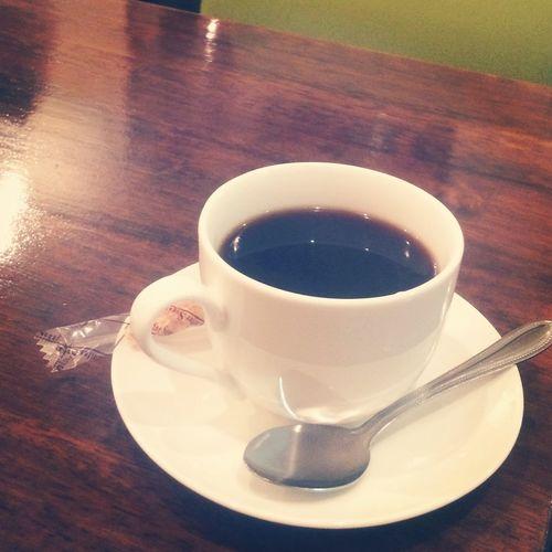 [2014/06/26] オーガニックブレンドコーヒー☕️ はぁ...とにかくはよ帰ろ... @Barista's Daydream Coffee