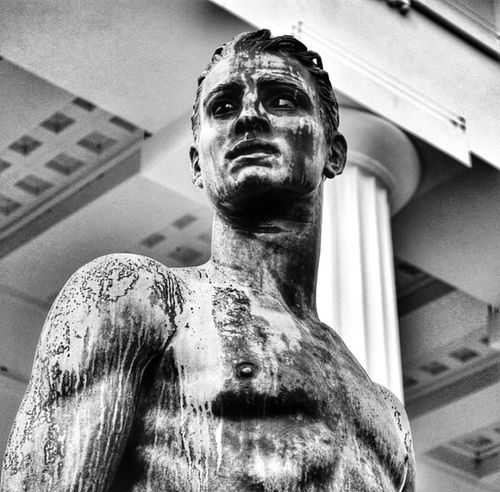 Theseus, one of the Argonauts Eye4photography  Black & White People Watching Art History