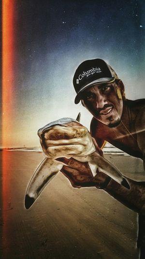 I've got 99 problems, and fishing solves all of them! Surffishing Beachlife Beachfishing Galveston Myhappyplace First Eyeem Photo