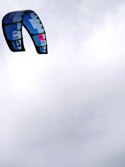 Kitesurf Blue Pink Color Beach Sky Wing Road Sign Communication Sky