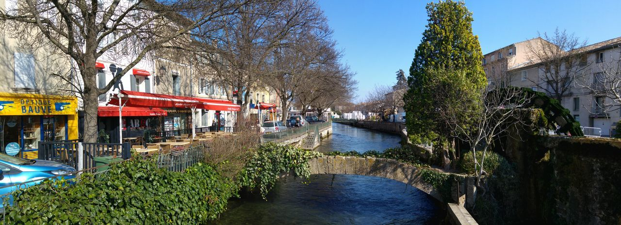 Beautiful evening in a quiet French village. Bridge - Man Made Structure Building Exterior France Town Mill River River Riverscape Riverside Photography Water
