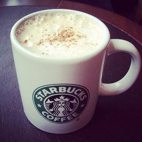 No ice Hot Coffee Starbucks