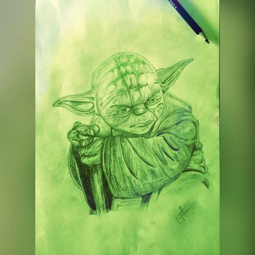 Hanging Out Taking Photos Hello World Enjoying Life Hi! Check This Out That's Me Starwars Master Yoda