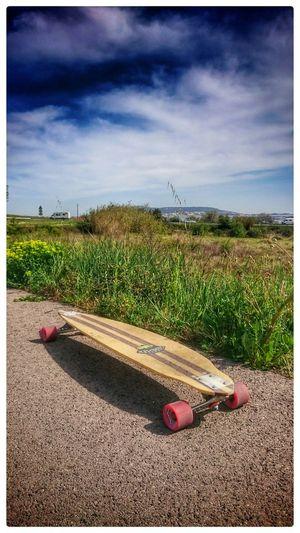 Longboard Longboarding Enjoying The View Enjoying The Sun Enjoying Life