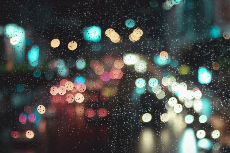 Bokeh & Rain