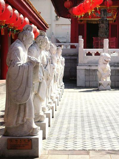 Temple Confucius Confucian Temple Confucian Shrine, Nagasaki(長崎孔子廟) ConfuciusTemple Statue White Statue