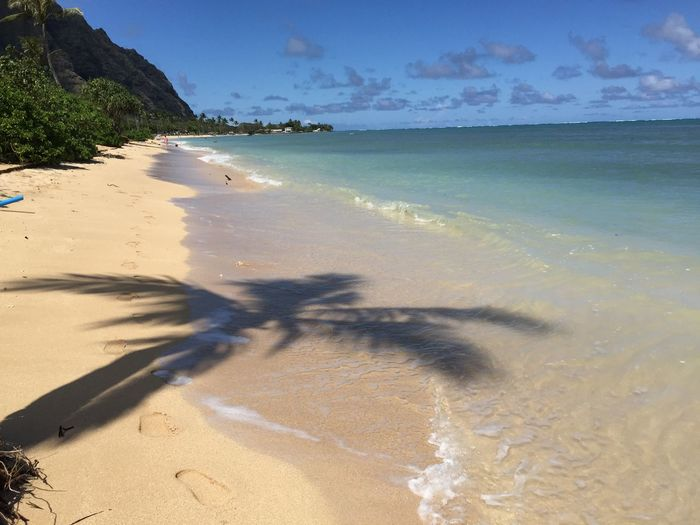 Soaking Up The Sun Hawaii Being A Beach Bum Iphone6