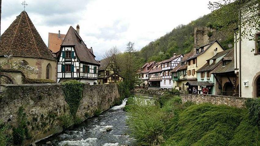 La Weiss, Kaysersberg River Alsace France Roadtrip
