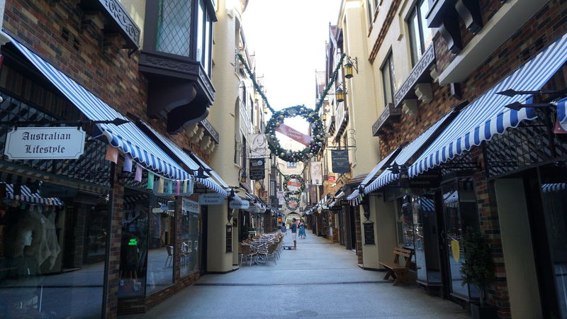 London Court Perth Western Australia Architecture The Way Forward Store Built Structure Morningtime Sky City Day
