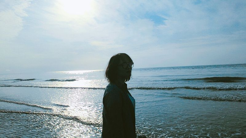 Water Sea One Person People Children Only Child Sun Day Sunlight Outdoors One Girl Only Swimming Sky Nature Underwater Beach Beauty Silhouette Horizon Over Water Young Adult Hsinchu, Taiwan IseetaiwanThe Week Of Eyeem Reflection The Week On Eyem
