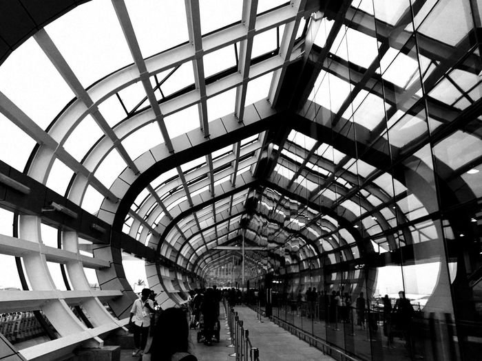 No People Built Structure Blackandwhite Black And White Blackandwhite Photography Lines Lines&Design Indoors  Lines, Shapes And Curves 廈門 China Photos Xiamen,China Xiamen Engineering