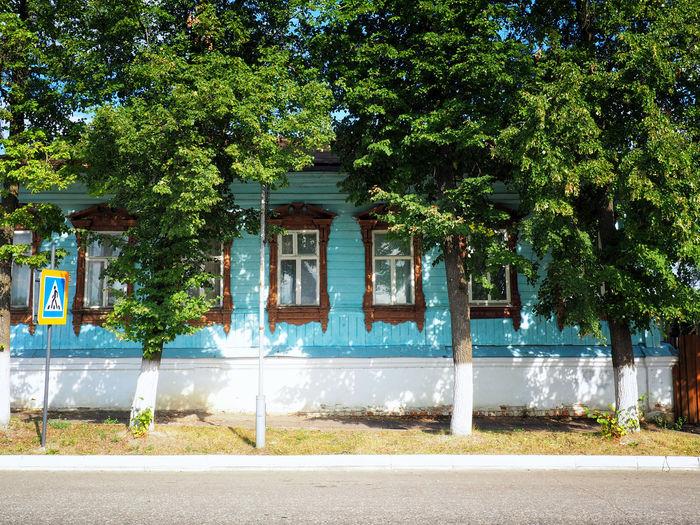 Suzdal houses