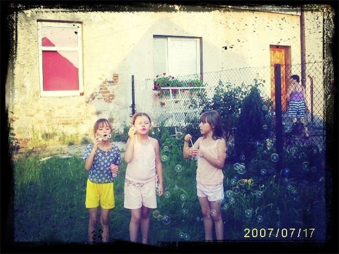 Bubbles Best Friends Forever Young #OldPicture