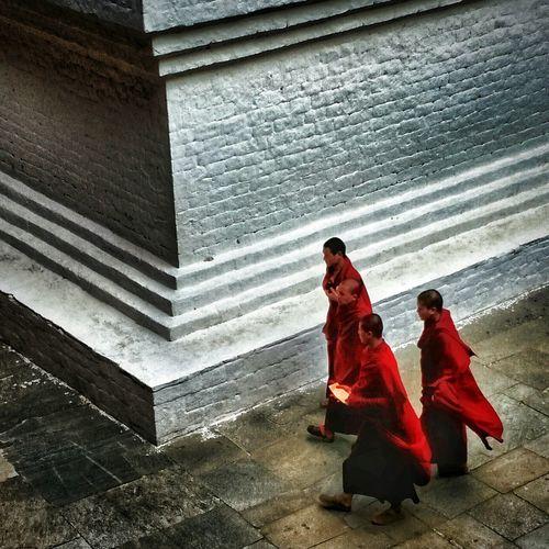 Mendicancy Bhutan Monk  Punakha Trip Travel Buddha First Eyeem Photo