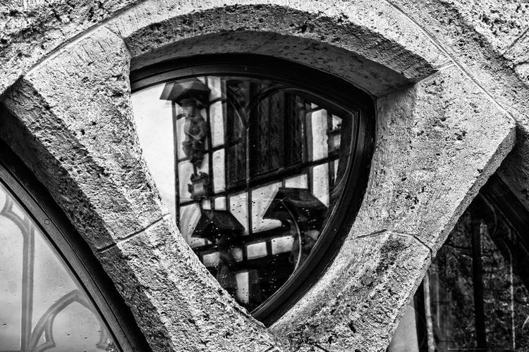 low angle view of old building EyeEm Best Shots EyeEm Selects EyeEm Gallery Mirror Schloss Lichtenstein Arch Architecture Building Building Exterior Built Structure Close-up Day Fujifilm_xseries Glass - Material Low Angle View No People Old Outdoors Reflection Schwäbische Alb Wall Wall - Building Feature Weathered Wheel Window