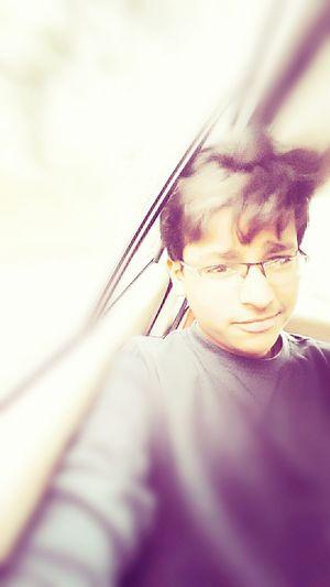 Random_click Its Mee ANEESH GUPTA✌😘😘😘😘 In My Car Selfie With My Samsung S5 ✌ 😀😀