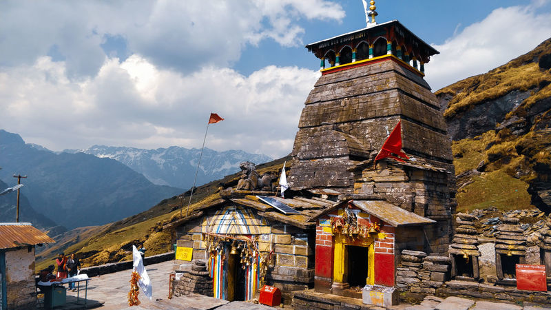 Ancient indian temples.. Travel Destinations Travel India Indianphotography Indian Culture  Travel Photography Indiaphotoproject Meadow Travelgram Travelwriter Indiantemples Temples Mountain Himalayas Uttarakhand Tungnath EyeEm Selects Place Of Worship Mountain Politics And Government Royalty Religion Tree History Tradition Flag Sky