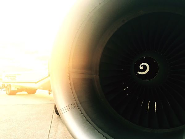 Airplane Air Vehicle Transportation Jet Engine Close-up Technology No People Outdoors Day Airplane Wing Airbus A320 View Of A Pilot