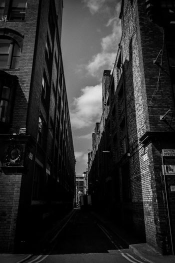 China Lane, Northern Quarter, Manchester. Manchester Manhattan Manchattan HuaweiP9 Leicap9 Leica Black And White Black And White Photography Building Perspective