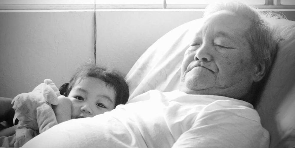 Grandpa Grandparents Love Grandparent Girl Granddaughter Cute