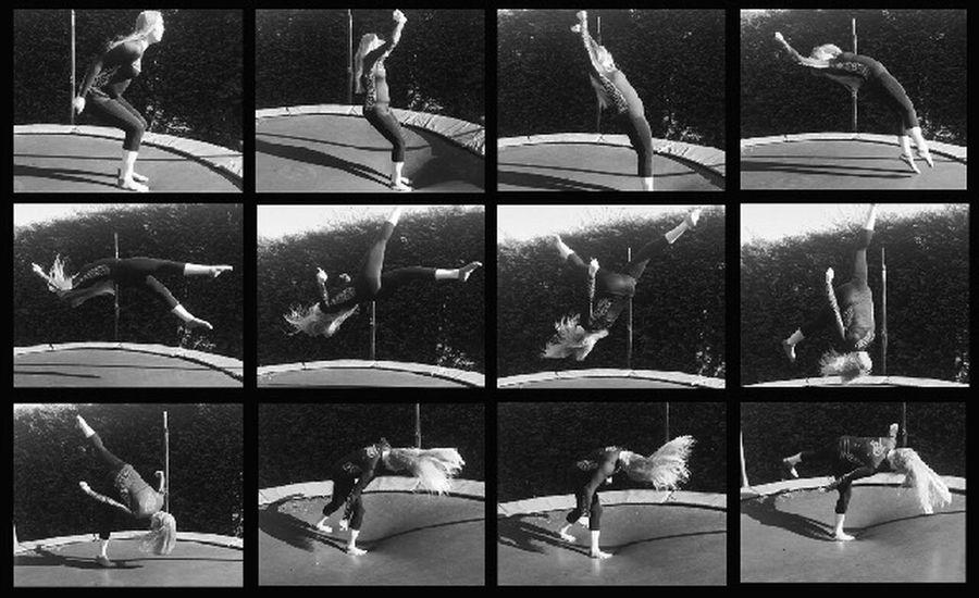 Muybridge Letyourhairdown Cheerleading Actionshot Flipographie