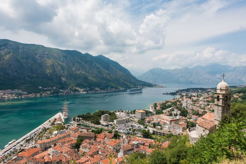 Kotor Kotor, Montenegro Montenegro Mountains Mountain Range Mountain View Mountains And Sky Mountain_collection Landscape_photography Landscape_Collection Landscape Landscapes Cityscapes Cityscape Ocean Sea Sea And Sky Ship Traveling Travel Travel Photography Travel Destinations Tourism