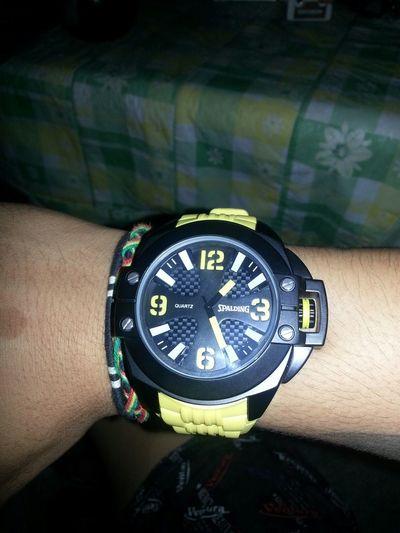 lovin this spalding wrist watch (: