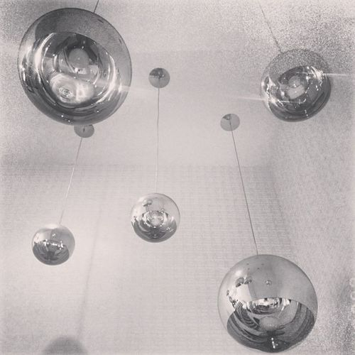 Oh Balls Hanging Light Blackandwhite B Down Derby Bulbs Bandw Evans Onstairs