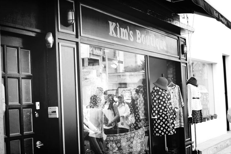 Streetphoto_bw Store Boutique Passing Strangers