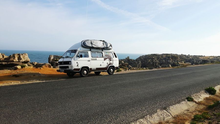 Transportation Road Outdoors People Day Vacations Sky Nature Peniche, Portugal Van Life Volkswagenbus Portugal Summer Travel Destinations Vacations Eat Sleep Surf Roadtrip Elternzeit
