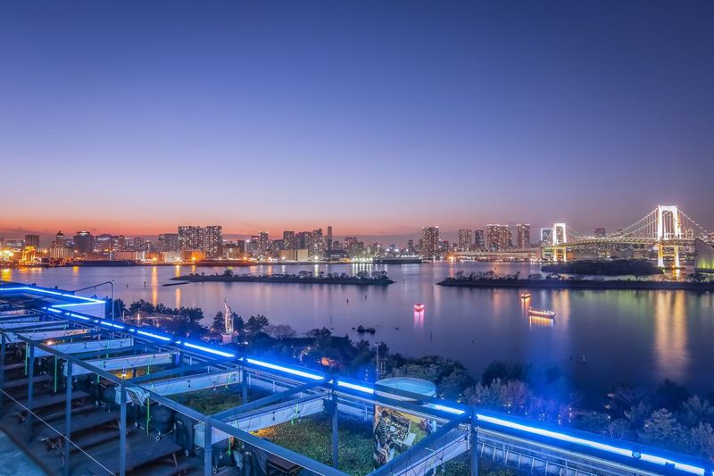 Odaiba twilight