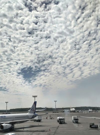 ✈☁✈Airport Airplane Aircraft Sky Clouds Aircrafts