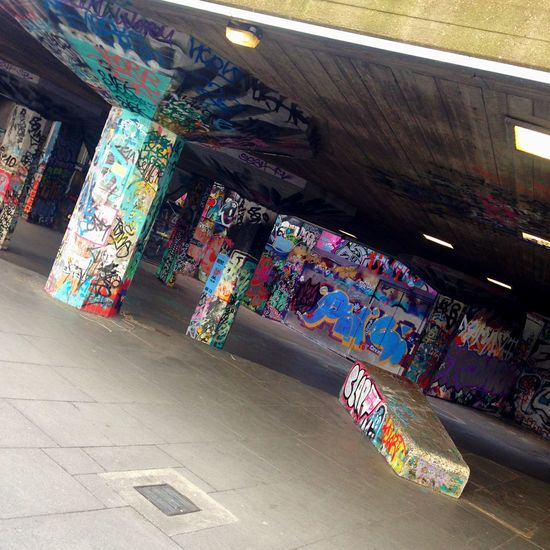 The Secret Spaces Graffiti London Secret Skatepark Hidden No People