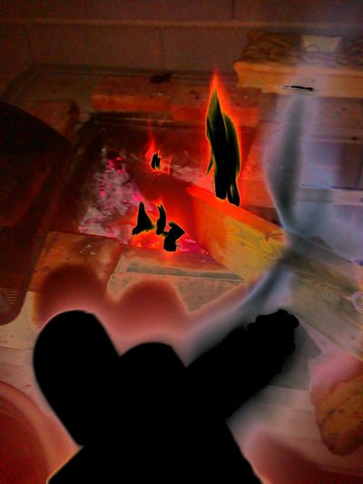 Getting Creative Fire SpiritualWarfare Supernatural Angels Demons Grimreaper Manifestations
