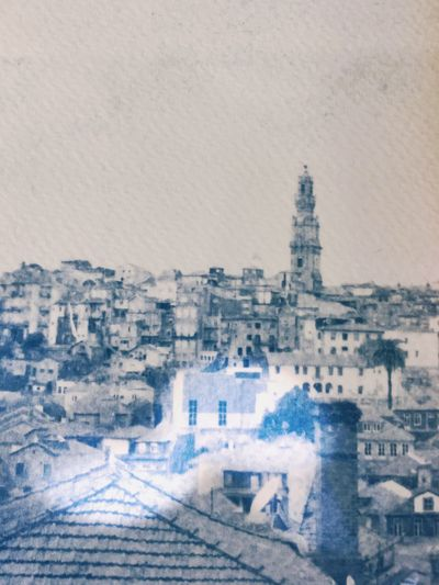 Porto lost memories / Onceuponatimeinporto Porto Architecture Building Exterior City Built Structure Cityscape No People Outdoors Day Sky Close-up Cyanotype Cyanotype Print Cyanotype Photography Prussian Azul Old Vintage Blue Prussian Blue Stories From The City