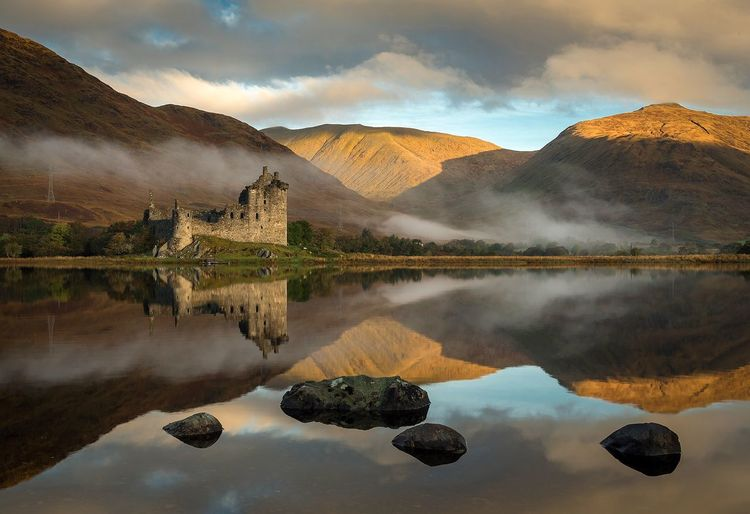 Kilchurn Castle, Scotland Reflection Mountain Water EyeEm Best Shots - Nature EyeEm Masterclass Dramatic Sky Scotland EyeEm Best Shots - Sunsets + Sunrise EyeEm Best Edits EyeEm The Best Shots Landscape Photography Landscape_Collection EyeEm Team