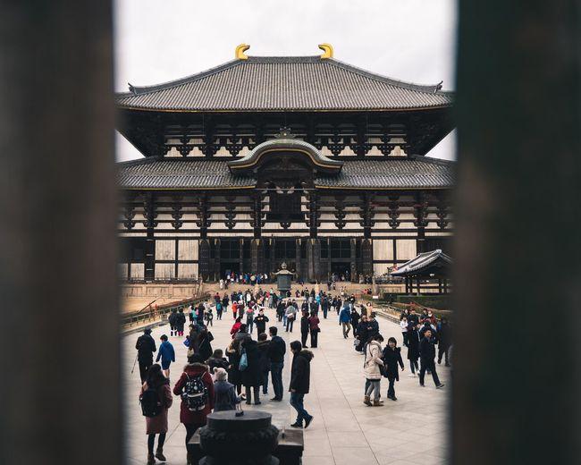 Temple Frame